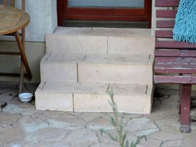 schody z kostki brukowej 2