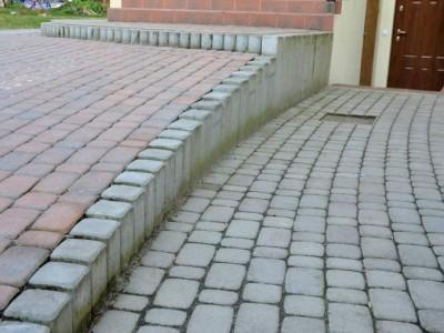 schody z kostki brukowej 1